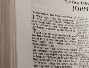 A Study of the Introduction of First John